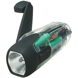 photo: Freeplay X-Ray LED flashlight