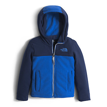photo: The North Face Lil' Grid Fleece Hoodie fleece jacket