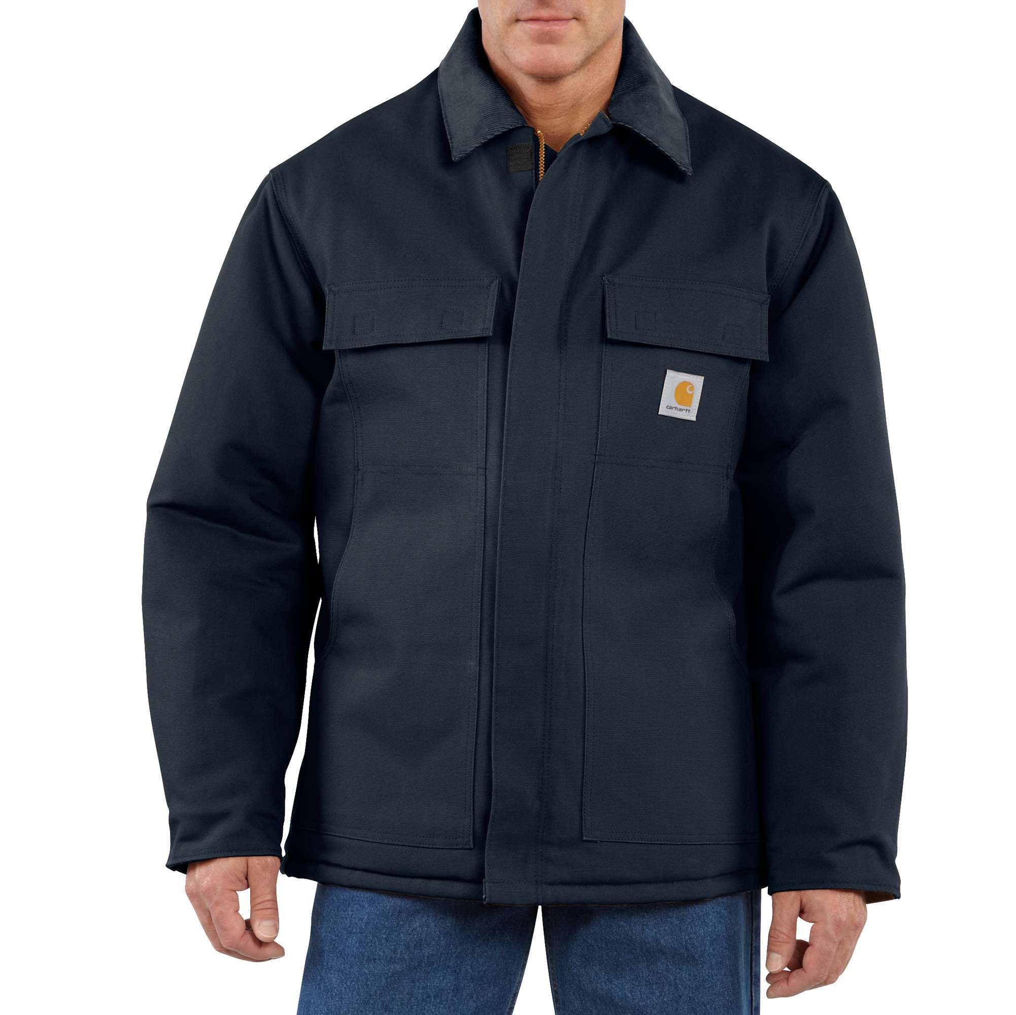 Carhartt Duck Traditional Coat/Arctic Quilt-Lined