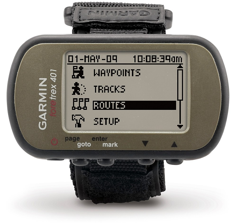 photo: Garmin Foretrex 401 handheld gps receiver