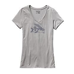 Patagonia Cotton/Poly V-Neck T-Shirt
