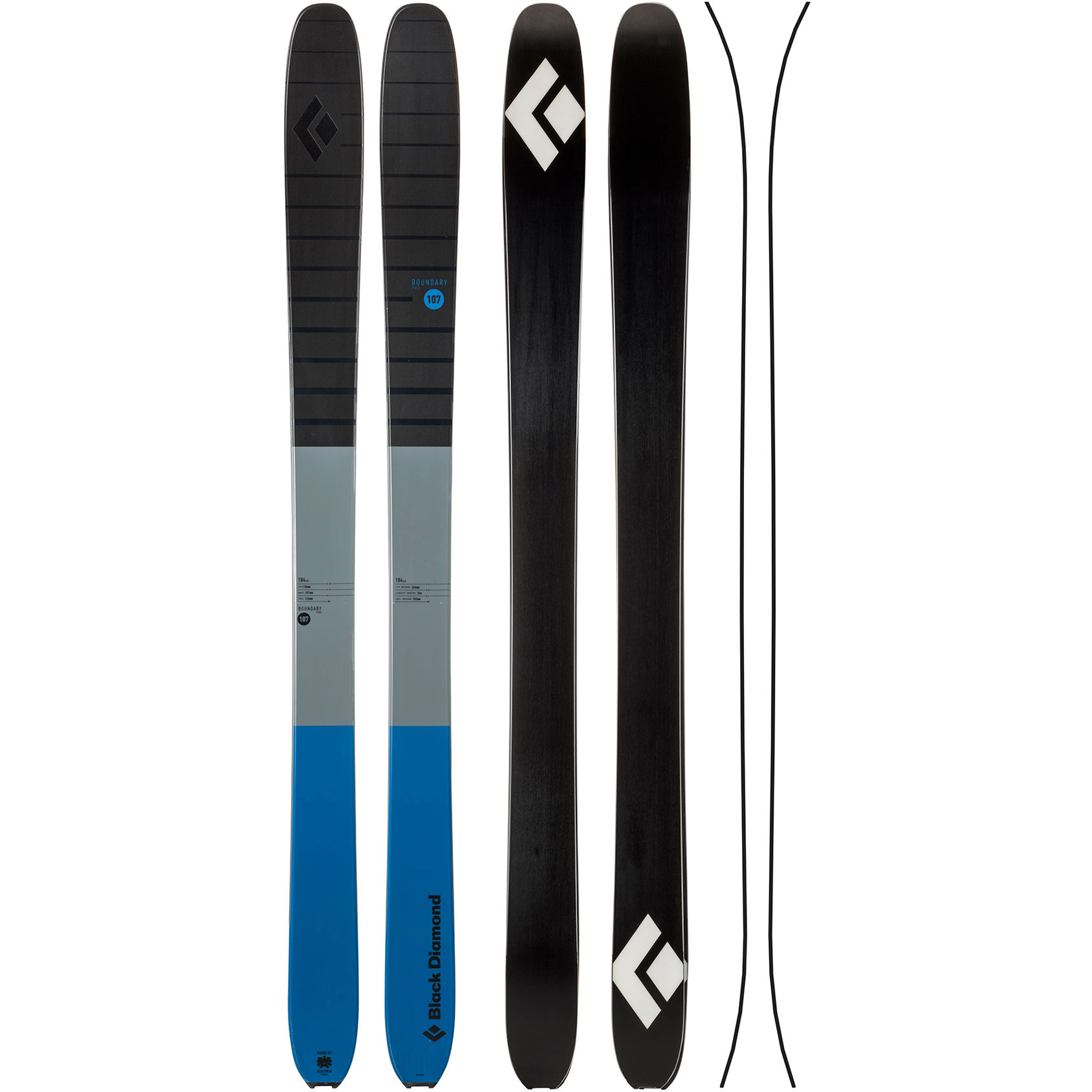 photo: Black Diamond Boundary Pro 107 alpine touring/telemark ski