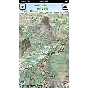 US National Parks GeoFlyer 3D Maps