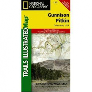 National Geographic Trails Illustrated Gunnison/Pitkin Map