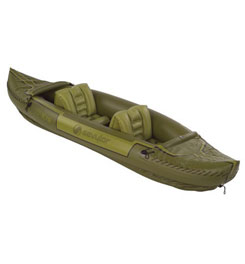 photo: Stearns Tahiti Fish/Hunt Kayak inflatable kayak