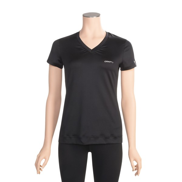 photo: Craft Women's Active Run Tee short sleeve performance top