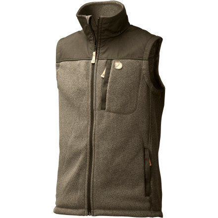 photo: Fjallraven Buck Fleece Vest fleece vest