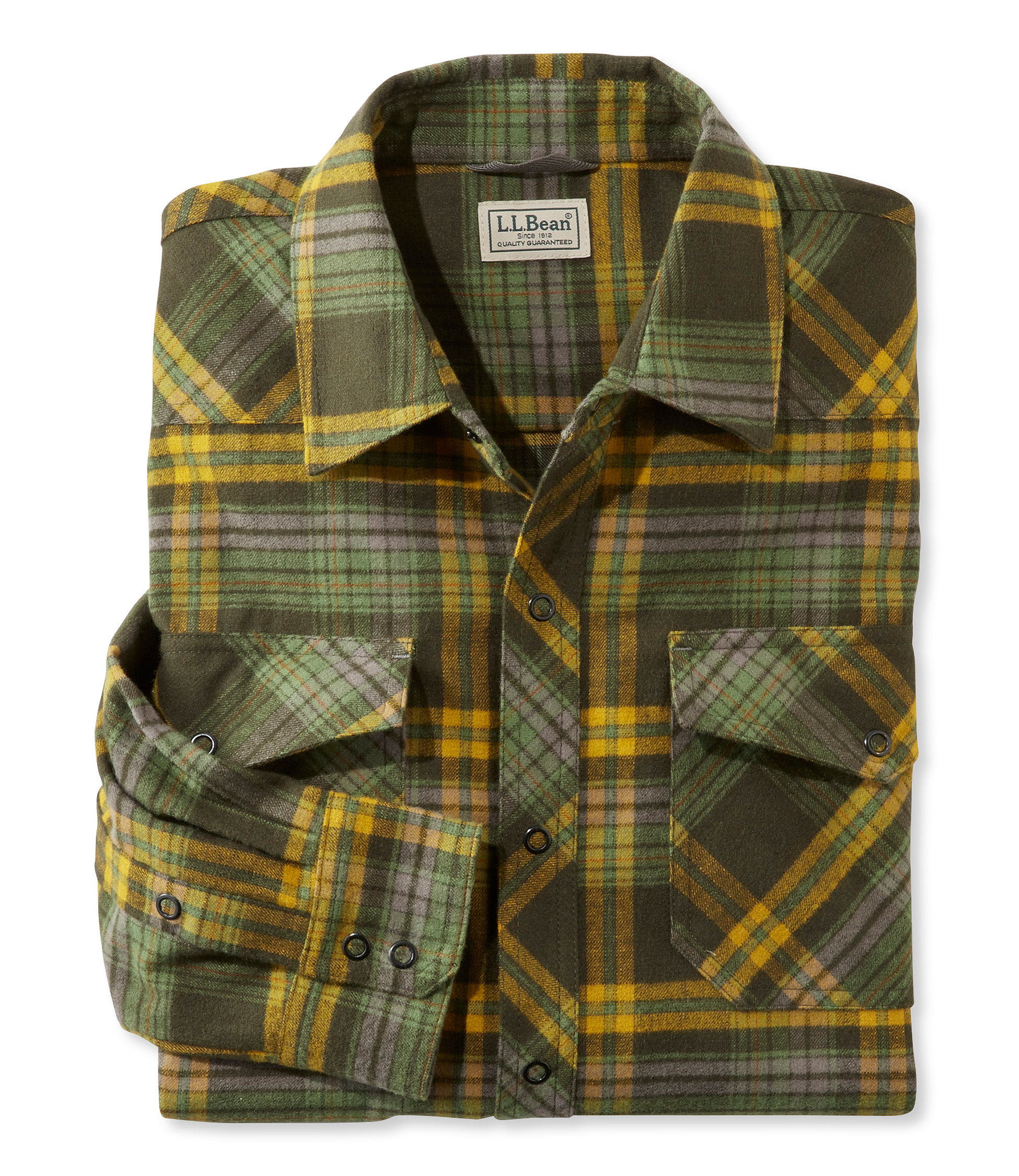L.L.Bean Overland Performance Flannel Shirt