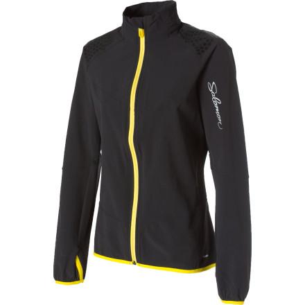 photo: Salomon Women's XA Smartskin soft shell jacket