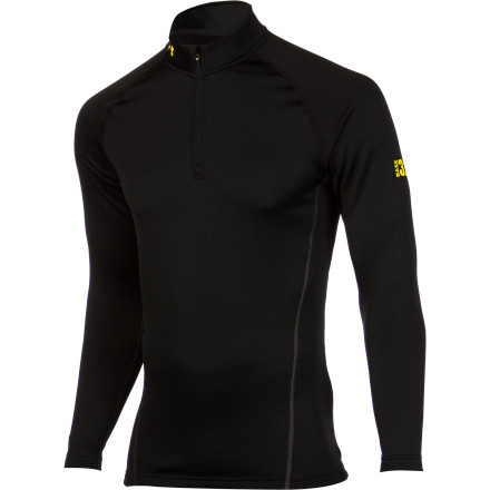 photo: Under Armour Men's Base 3.0 1/4 Zip base layer top