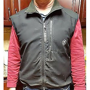 photo: Sierra Designs Backcountry Vest fleece vest