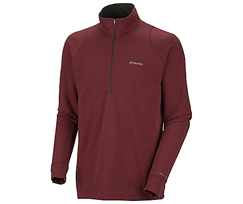 photo: Columbia Ultra Stop 1/2 Zip long sleeve performance top