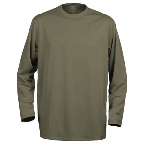 White Sierra Swamp Long Sleeve Tee