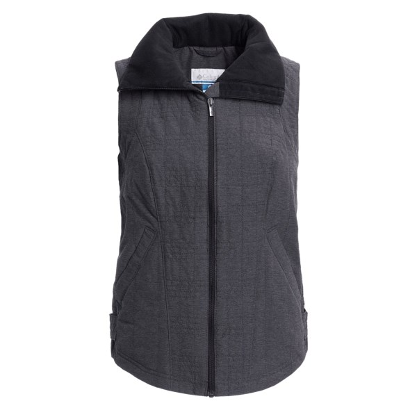 photo: Columbia Polished Performance Vest wind shell vest