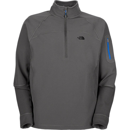 photo: The North Face Sabretooth 1/2 Zip soft shell jacket