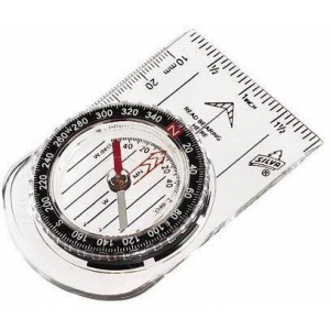 photo of a Silva handheld compass