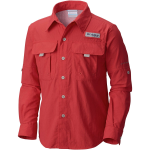 photo: Columbia Boys' Bahama Long Sleeve hiking shirt