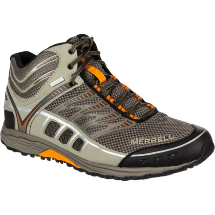 photo: Merrell Mix Master Tuff Mid Waterproof trail shoe