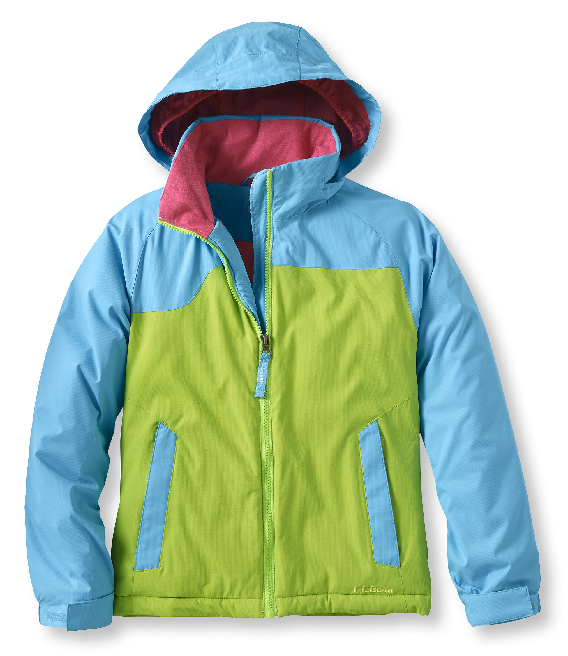 photo: L.L.Bean Girls' Katahdin Parka synthetic insulated jacket