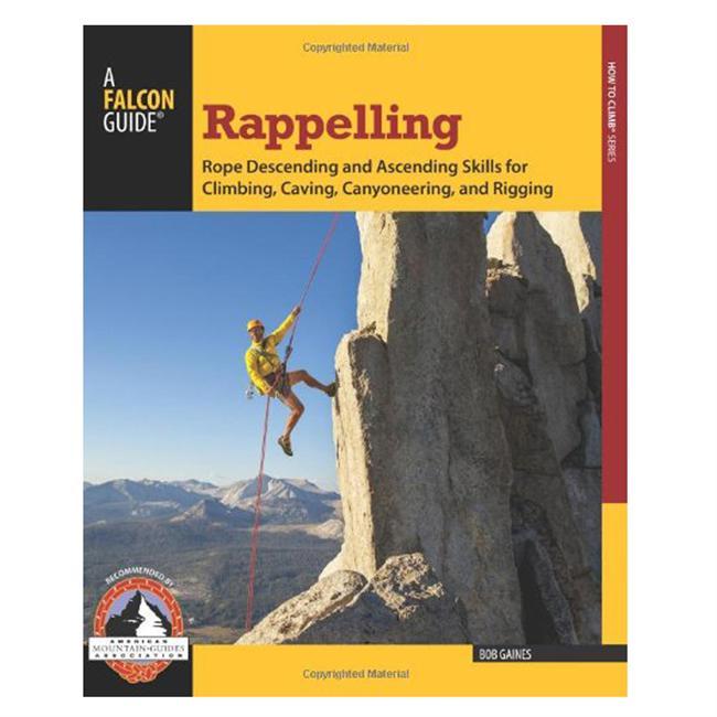 photo: Falcon Guides Rappelling climbing book