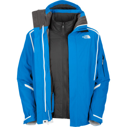 photo: The North Face Cornice Triclimate Jacket component (3-in-1) jacket