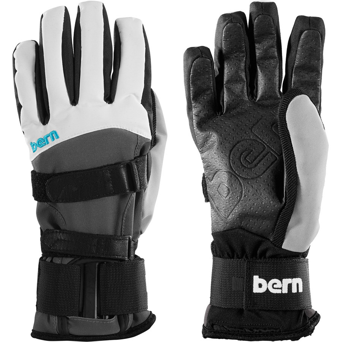 Bern Glove with Removable Wrist Guard