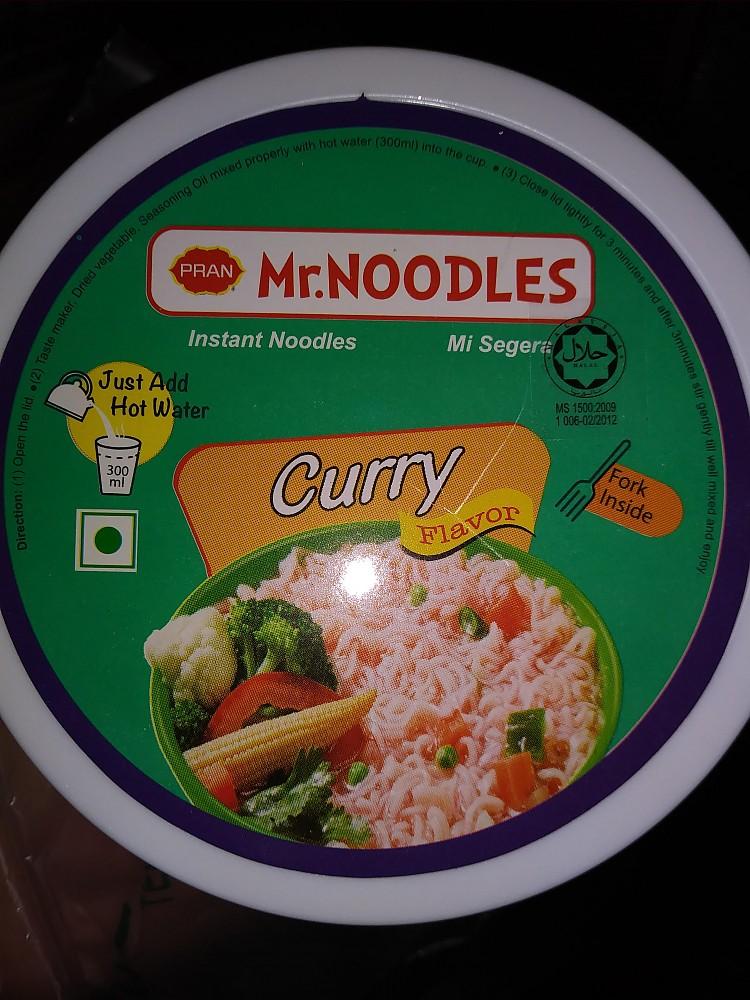 photo:   Pran Mr. Noodles Instant Noodles Curry Flavor food/drink