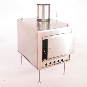 Seek Outside Titanium Wood Stove - Medium