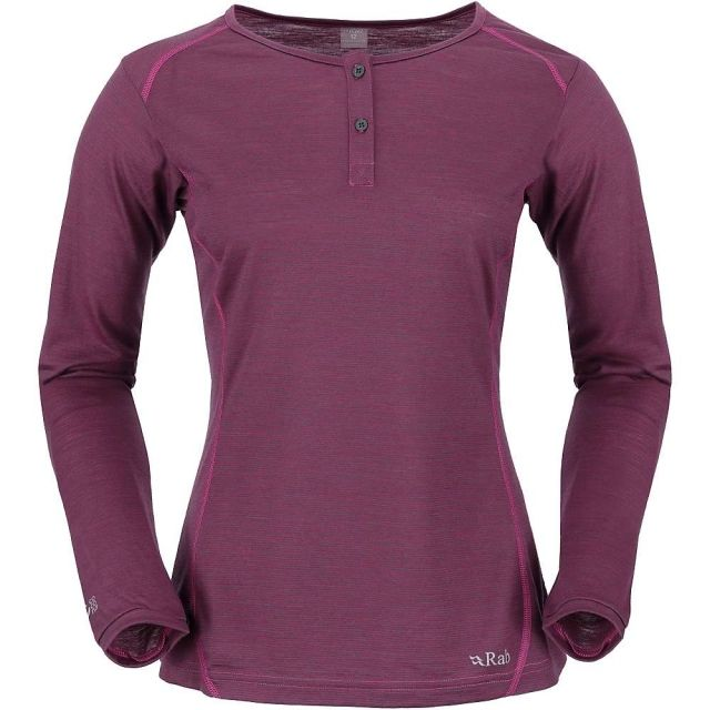 photo: Rab Men's MeCo 140 Long Sleeve Zip Tee base layer top