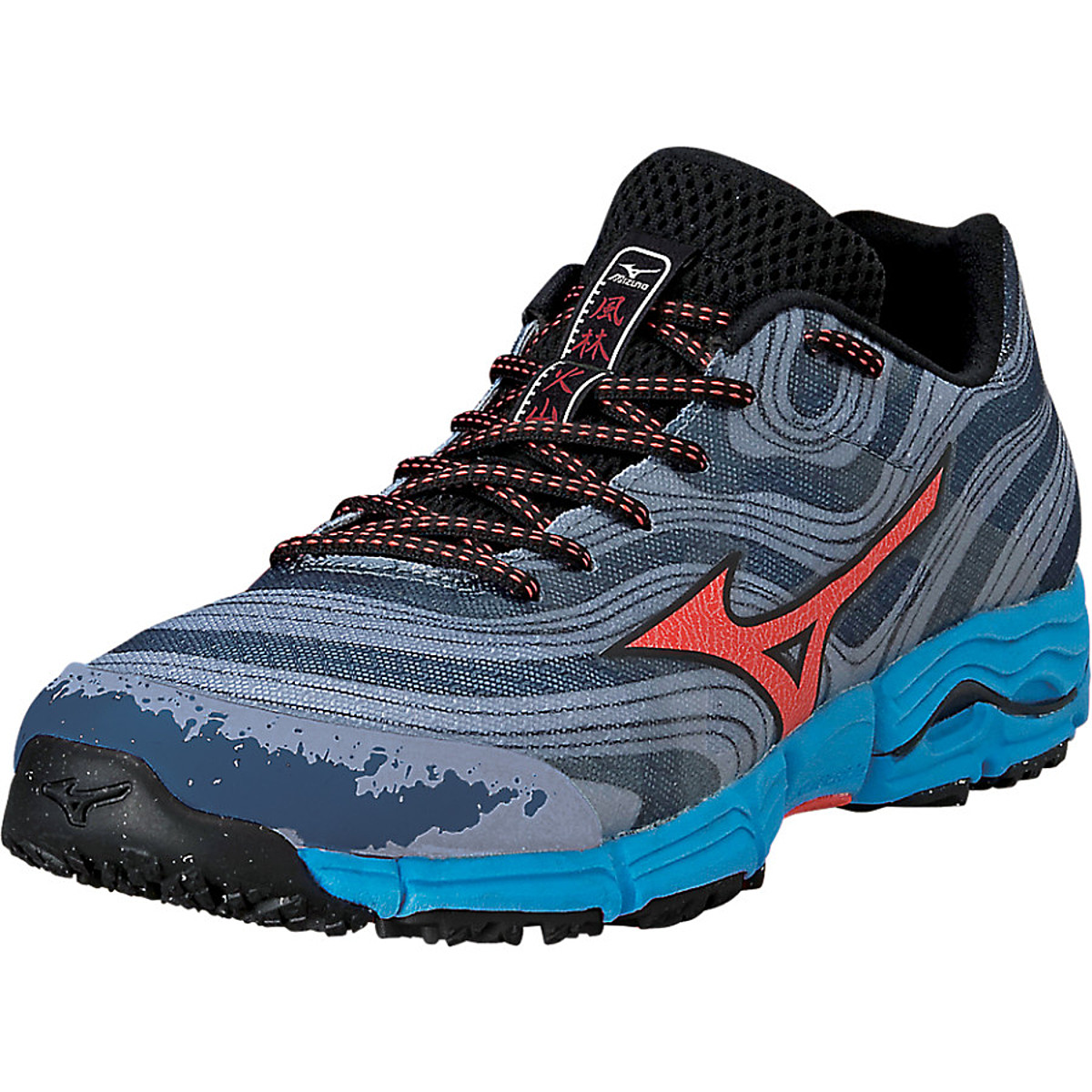 photo of a Mizuno trail running shoe