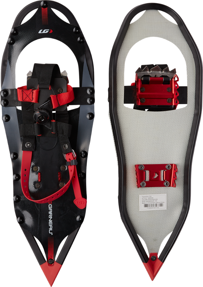 photo: Garneau Transition 723 running snowshoe
