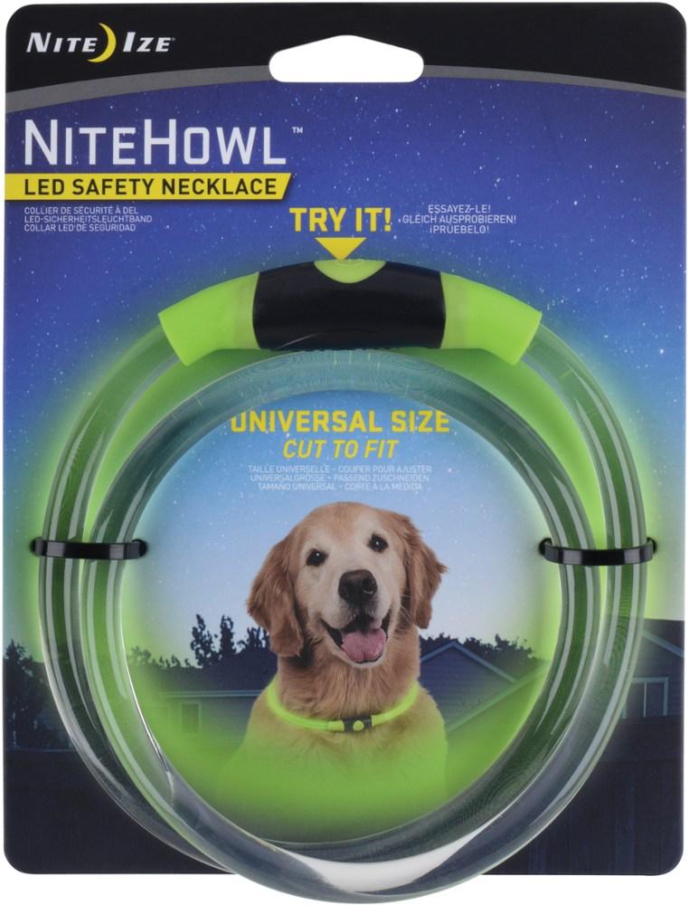 photo: Nite Ize NiteHowl LED Safety Necklace dog collar