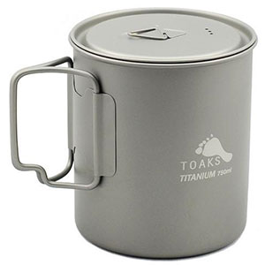 photo of a Toaks cookware