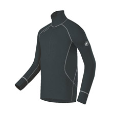 photo: Mammut Men's Warm Quality Zip Longsleeve base layer top