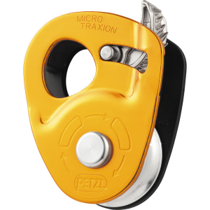 photo: Petzl Micro Traxion belay/rappel device