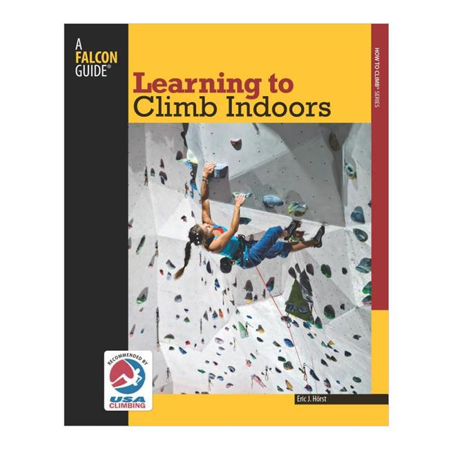 photo: Falcon Guides Learning to Climb Indoors climbing book