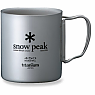 photo: Snow Peak Ti-Double 450 Cup