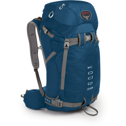 photo: Osprey Kode 38 winter pack