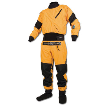 Kokatat Gore-Tex Meridian Kayak Dry Suit with Relief Zipper & Socks