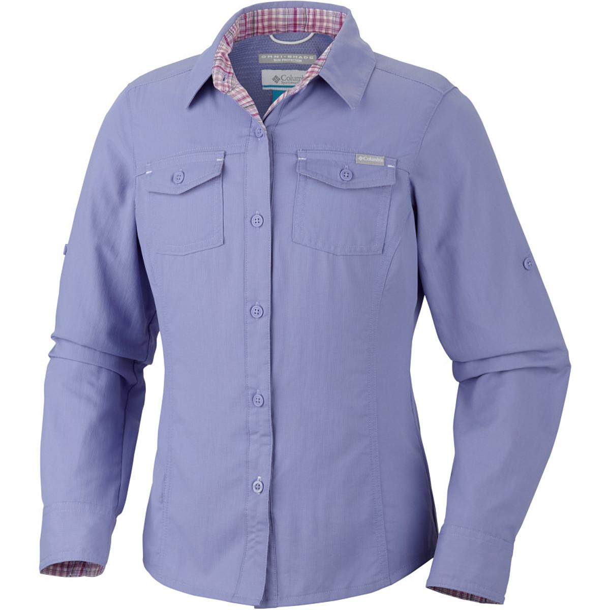 photo: Columbia Girls' Silver Ridge II Long Sleeve Shirt hiking shirt