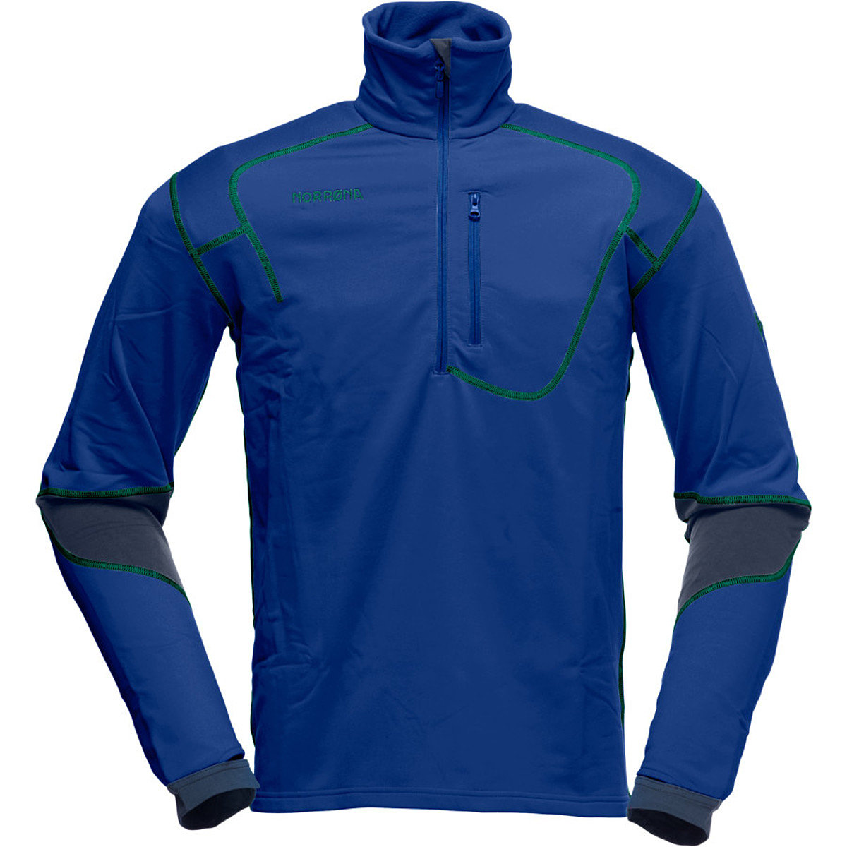 photo: Norrona Men's Trollveggan Warm2 Stretch Pullover fleece jacket