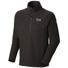 photo: Mountain Hardwear Toasty Tweed Zip 1/4 Zip fleece top