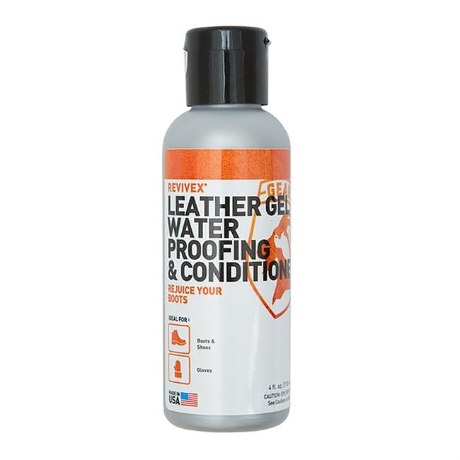 photo: Gear Aid ReviveX Leather Gel Water Repellent & Conditioner footwear cleaner/treatment