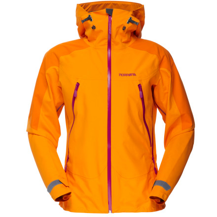 photo: Norrona Women's Falketind Gore-Tex Pro Shell Jacket waterproof jacket