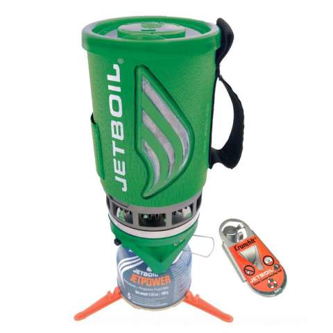 photo: Jetboil GreenKit - Flash & CrunchIt compressed fuel canister stove