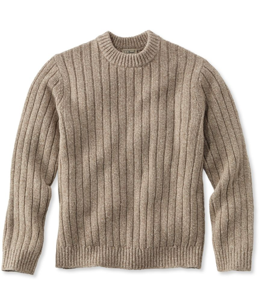 L.L.Bean Classic Ragg Wool Sweater, Crewneck