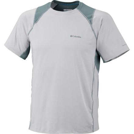 photo: Columbia Solar Polar Short Sleeve Crew short sleeve performance top