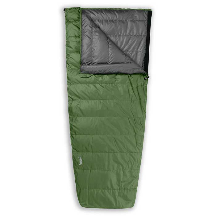 photo: GoLite Adventure 1+ Season Semi-Rectangular warm weather down sleeping bag