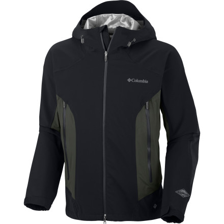 photo: Columbia Men's Triple Trail II Shell waterproof jacket
