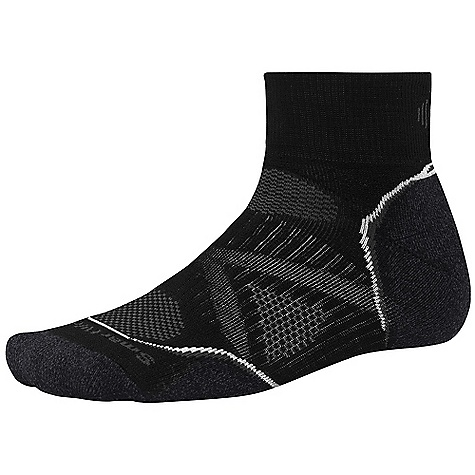 photo: Smartwool PhD Run Medium Mini Sock running sock